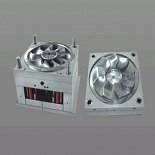 injection molds china 2 is a fan mold and made by exceedmold.com