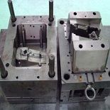 plastic molds china 4 is a structure part mold and made by exceed mold